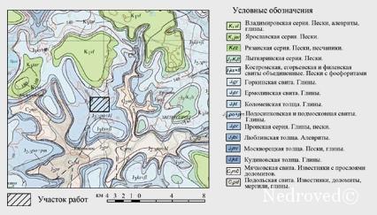 Геологическое строение района