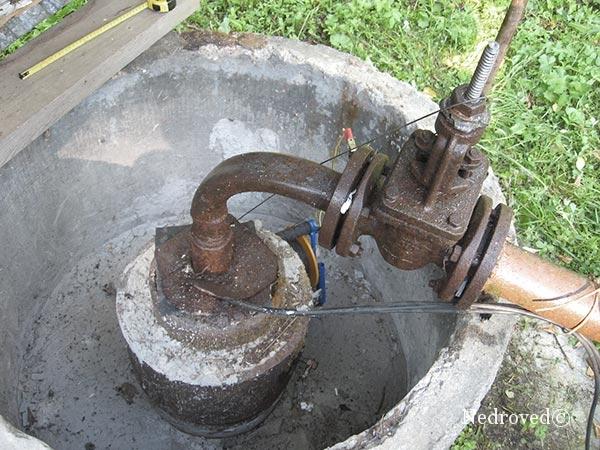 устье водозаборной скважины
