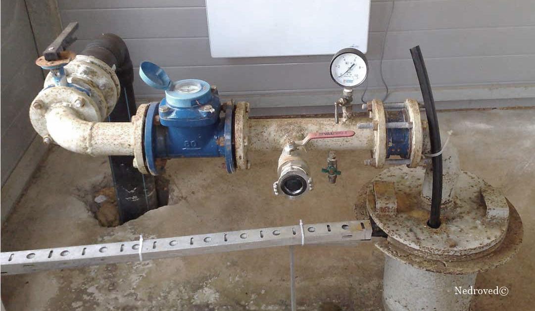 оборудование устья водозаборной скважины
