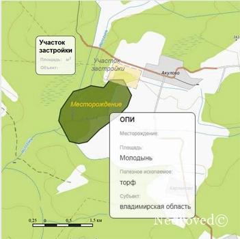Под территорией будущей застройки обнаружены запасы полезных ископаемых
